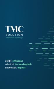 TMC SOLUTION Broschüre Vorderseit