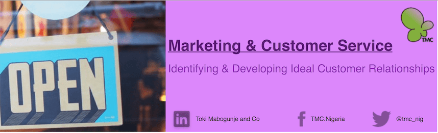 Marketing and Customer Service Training