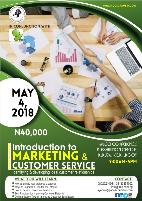 Introduction Marketing & Customer Service
