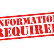 Information Required
