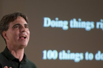 "Randy Pausch ""The Last Lecture"" 蘭迪·鮑許 「最後一場演講」"