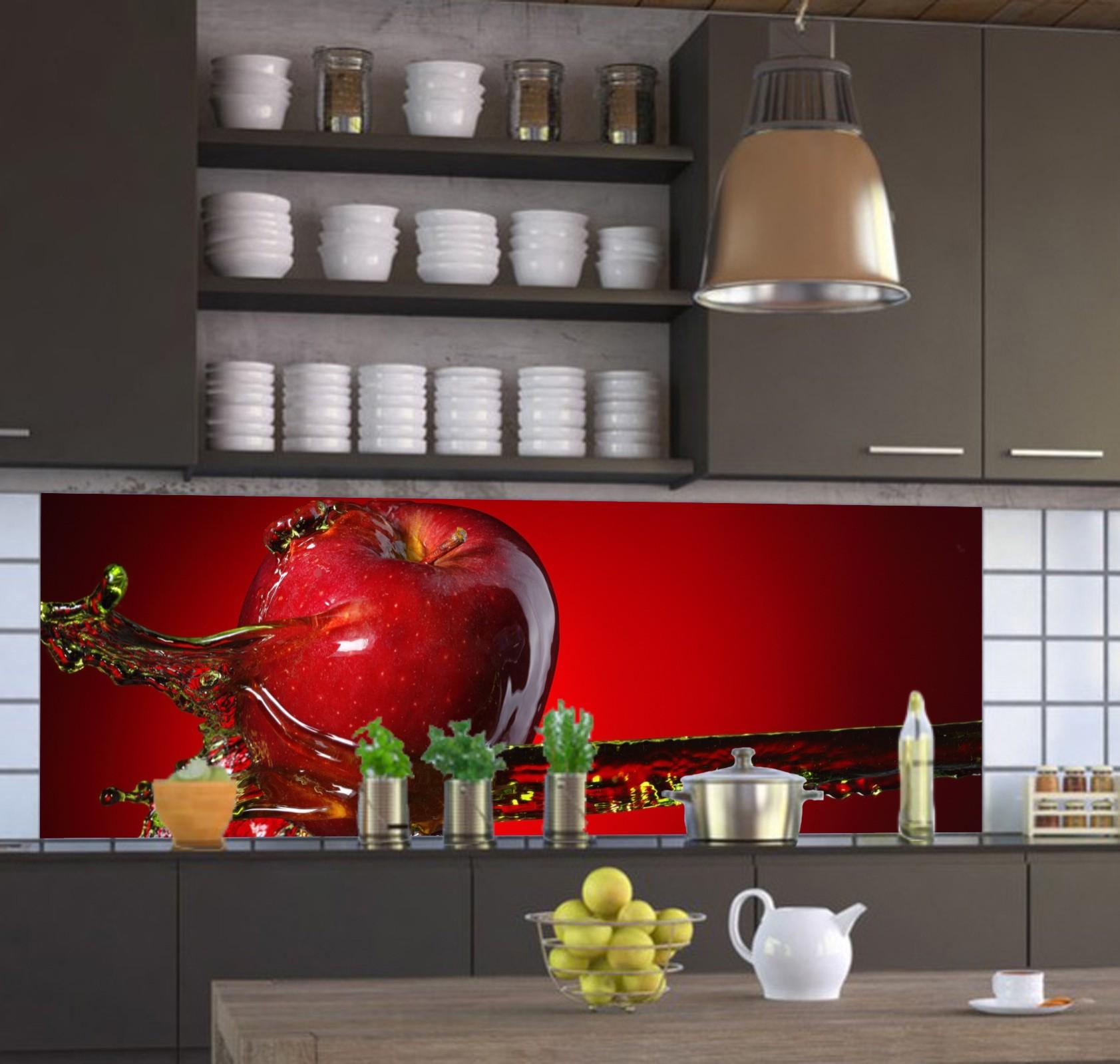 Küchenrückwand nach Maß - Spritzschutz