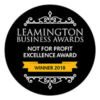 Leamington Spar Not for Profit Excellence Award 2018