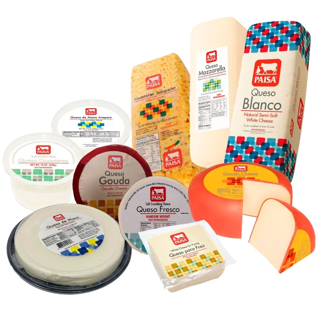 quesos marca paisa