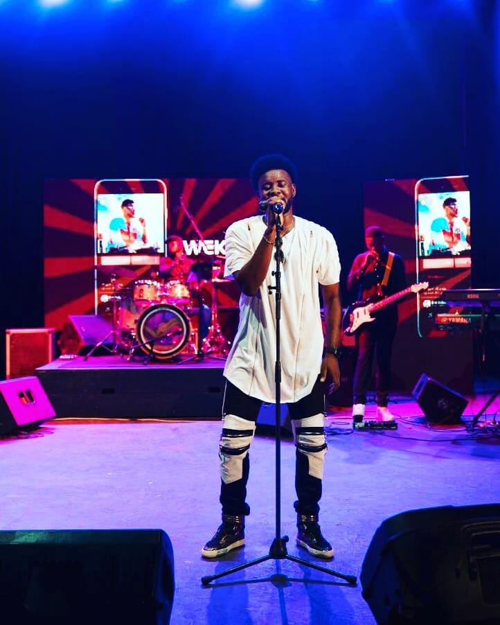 Kweku Afro Leaves Fans In Total Awe After Sterling Performance At The Maiden Edition Of Aftown Music Concert