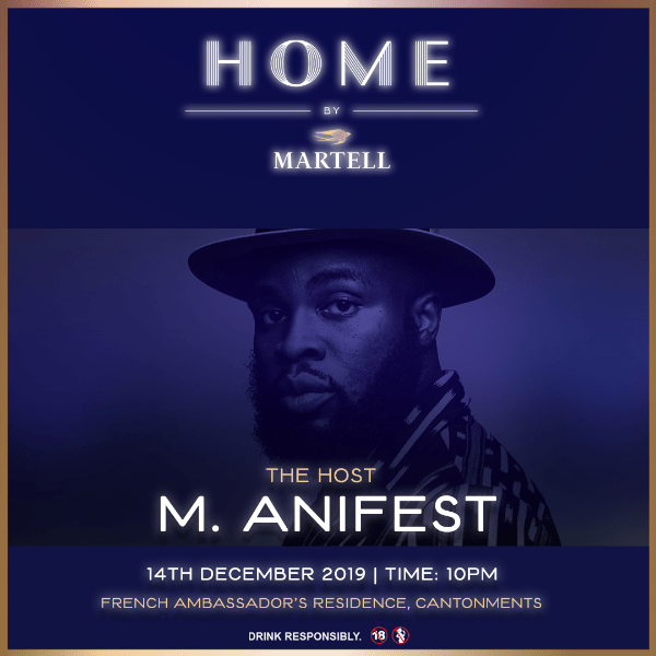 Martell Announces 'Home By Martell' To Be Hosted M.anifest