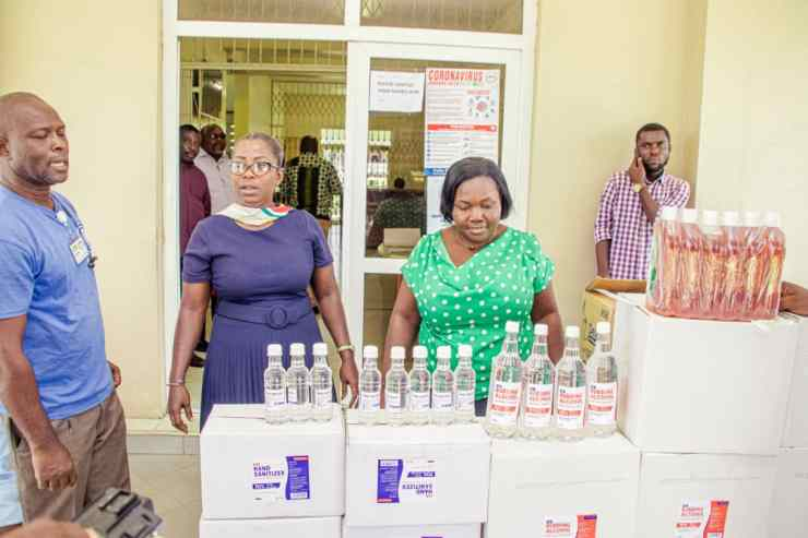 Capemay Properties Limited Backs Efforts Against Coronavirus By Donating 37 Military Hospital & Korle Bu