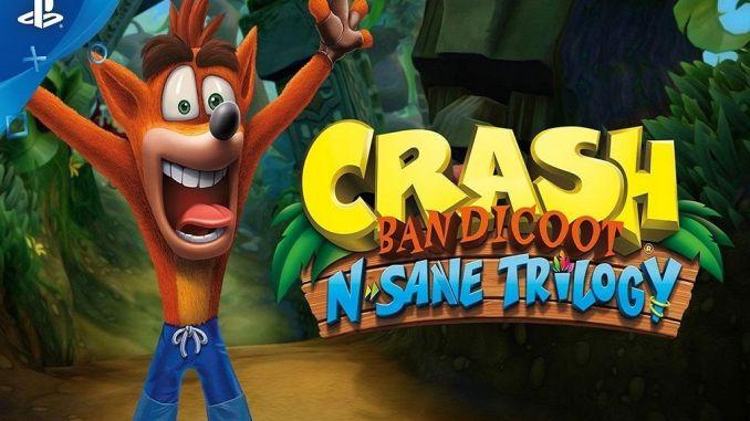 Crash Bandicoot на PlayStation 4