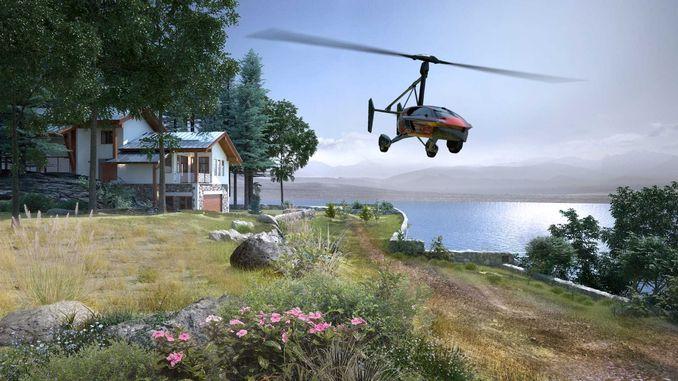Перший літаючий автомобіль тепер доступний для попереднього замовлення