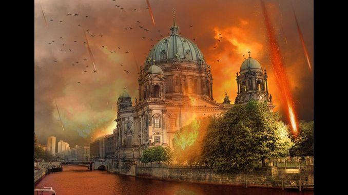Експерти змоделювали падіння великих астероїдів на Берлін і Лондон