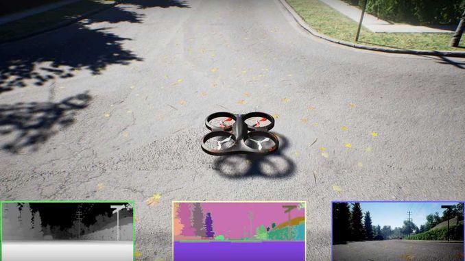 Microsoft опублікувала симулятор безпілотників
