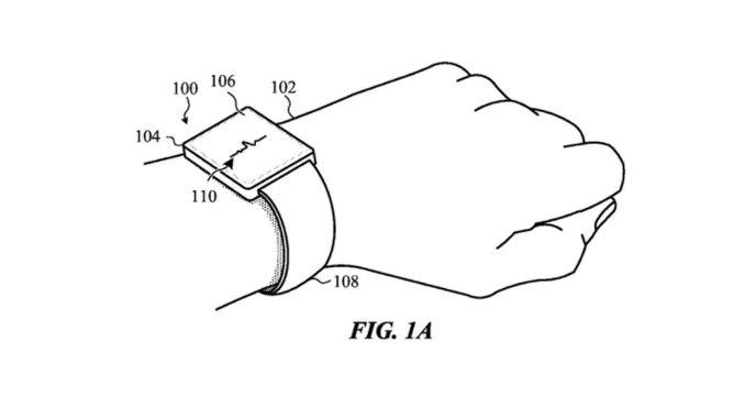 Apple запатентувала ремінець Apple Watch який самостійно регулюється