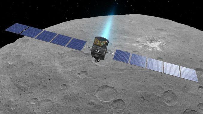 Космічний дослідницький апарат Dawn зблизиться з Церерой на рекордно близьку дистанцію