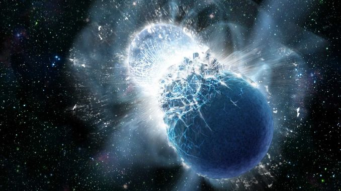 Вперше зафіксовано гравітаційні хвилі від злиття нейтронних зірок