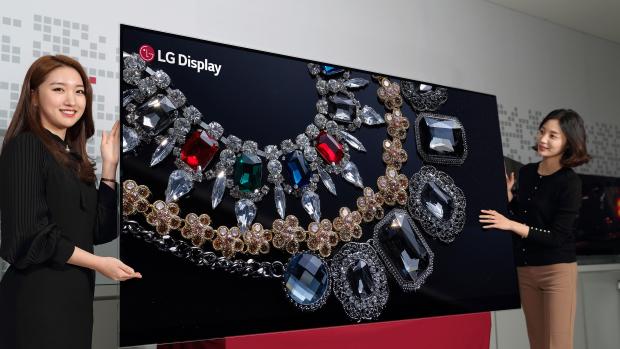 Перша OLED-панель від LG з діагоналлю 88 дюймів і роздільною здатністю 8К