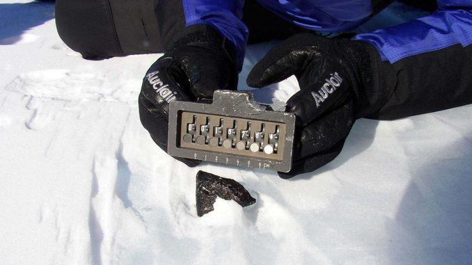 Випробувано обладнання для пошуку залізних метеоритів в Антарктиді