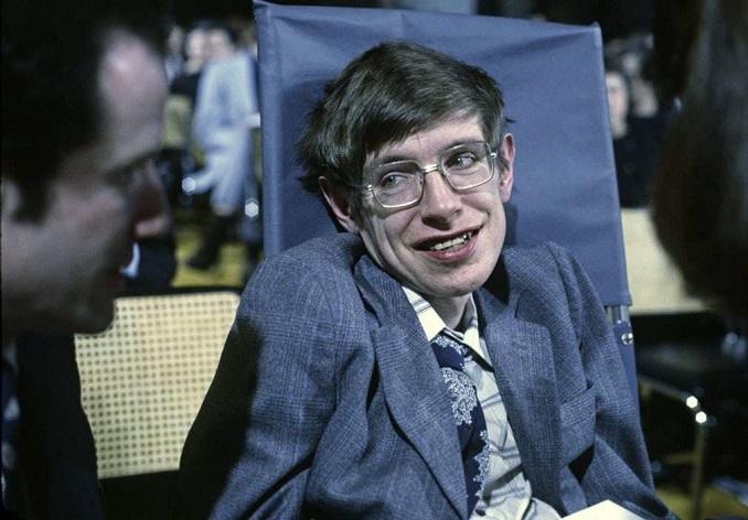 Стівен Гокінг в 1979 році. Фото Getty
