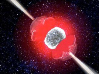 Астрономи вперше спостерігали «кокони» у релятивістських струменів наднової зірки