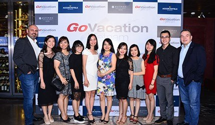 The official Opening Cocktail of Go Vacation Vietnam