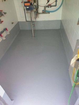 Industrial Floor Coatings Gray Color Flooring