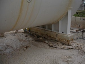 Sulfuric damage found by TMI Coatings