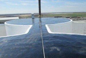 Photo of TMI Coatings Silo Roof Waterproofing in Crookston