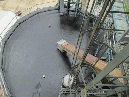 Photo of TMI Coatings Silo Roof