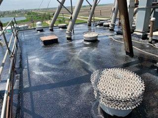 Hubbard Feeds Concrete Silo Roof Coating