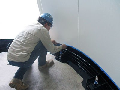 Charter NEX Silo Skirt Painting by TMI Coatings