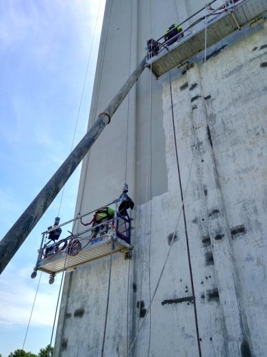 TMI Coatings Concrete Structure Restoration