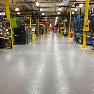 TMI Coatings completes production aisleway coating