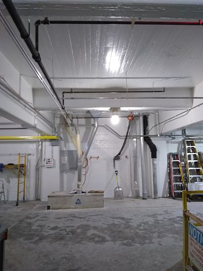 Photo of TMI Coatings Flour Mill Restoration
