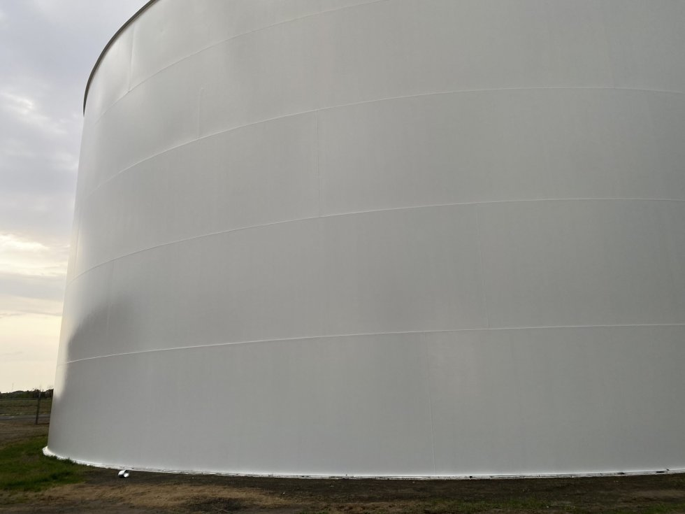 Photo of Potable Water Storage Tank Rehabilitation by TMI Coatings