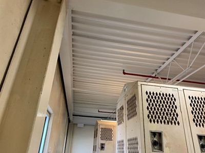 Photo of Finished Ceiling at Meat Production Facility