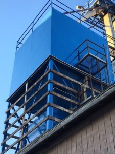 Photo of Fertilizer Tower by TMI Coatings