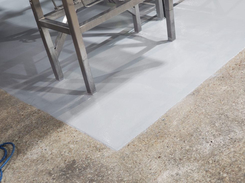 Photo of TMI Coatings Production Floor Refurbishment