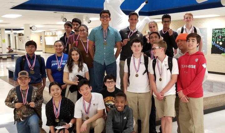 TMI Students at John Jay High School NISD Spanish Contest