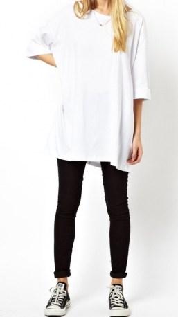 Womens Oversized Tee Shirts Asos Petite White Oversized T Shirt T Shirts Product 1 19386289 0 912422498 Normal - Latest Fashion Styles