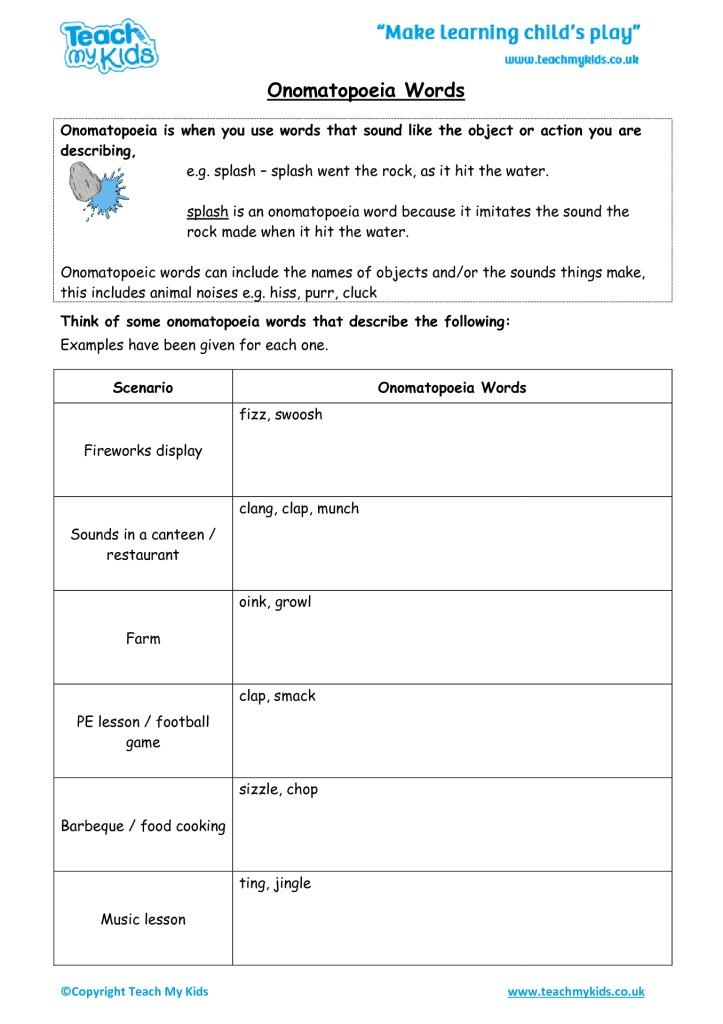 Spelling Word List