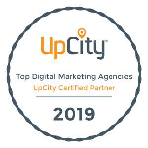 Top Digital Marketing Agency 2019 Upcity Badge