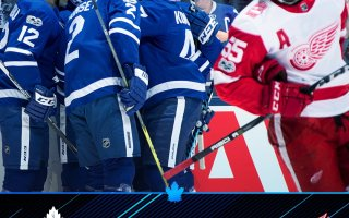 Game 7: Toronto Maple Leafs VS Detroit Red Wings