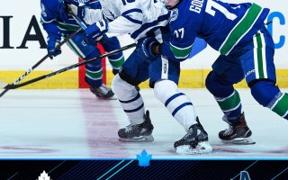 Game 28: Toronto Maple Leafs VS Vancouver Canucks