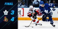 Game 45: Toronto Maple Leafs VS Ottawa Senators
