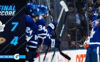Game 55: Toronto Maple Leafs VS Anaheim Ducks