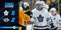 Game 74: Toronto Maple Leafs VS Nashville Predators