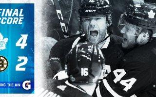 ECQF Game 3: Boston Bruins VS Toronto Maple Leafs