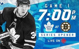 ECQF Game 1: Toronto Maple Leafs VS Boston Bruins [Game Day Thread]