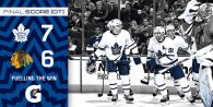 Game 3: Toronto Maple Leafs @ Chicago BlackHawks (W 7-6)