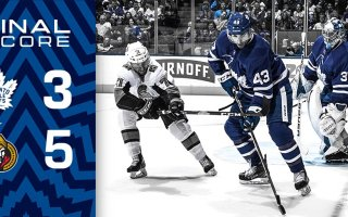 Game 2: Ottawa Senators @ Toronto Maple Leafs (L 5-3)