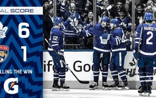 Game 35: Florida Panthers VS Toronto Maple Leafs (W 6-1)